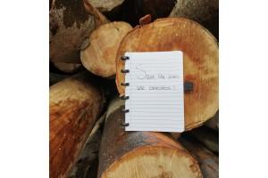 4 x waar je aan bijdraagt met een uitwisbaar notitieboek