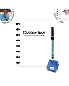 Correctbook Original A5 Inspirational White Bullet Journal