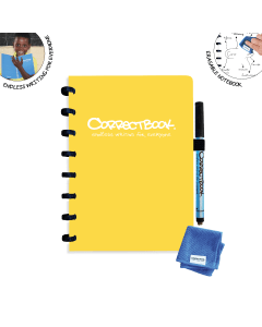 Correctbook Original A5 Yellow
