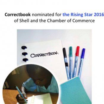Nominatie Rising Star door Shell en Kvk