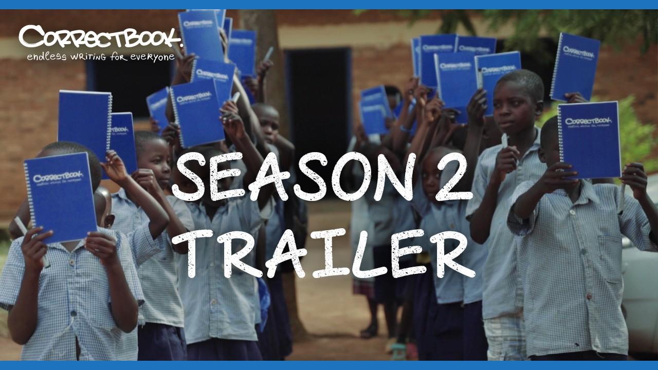"""Eindelijk is het zo ver! De trailer van de """"Correctbook Diary"""" seizoen twee staat online."""