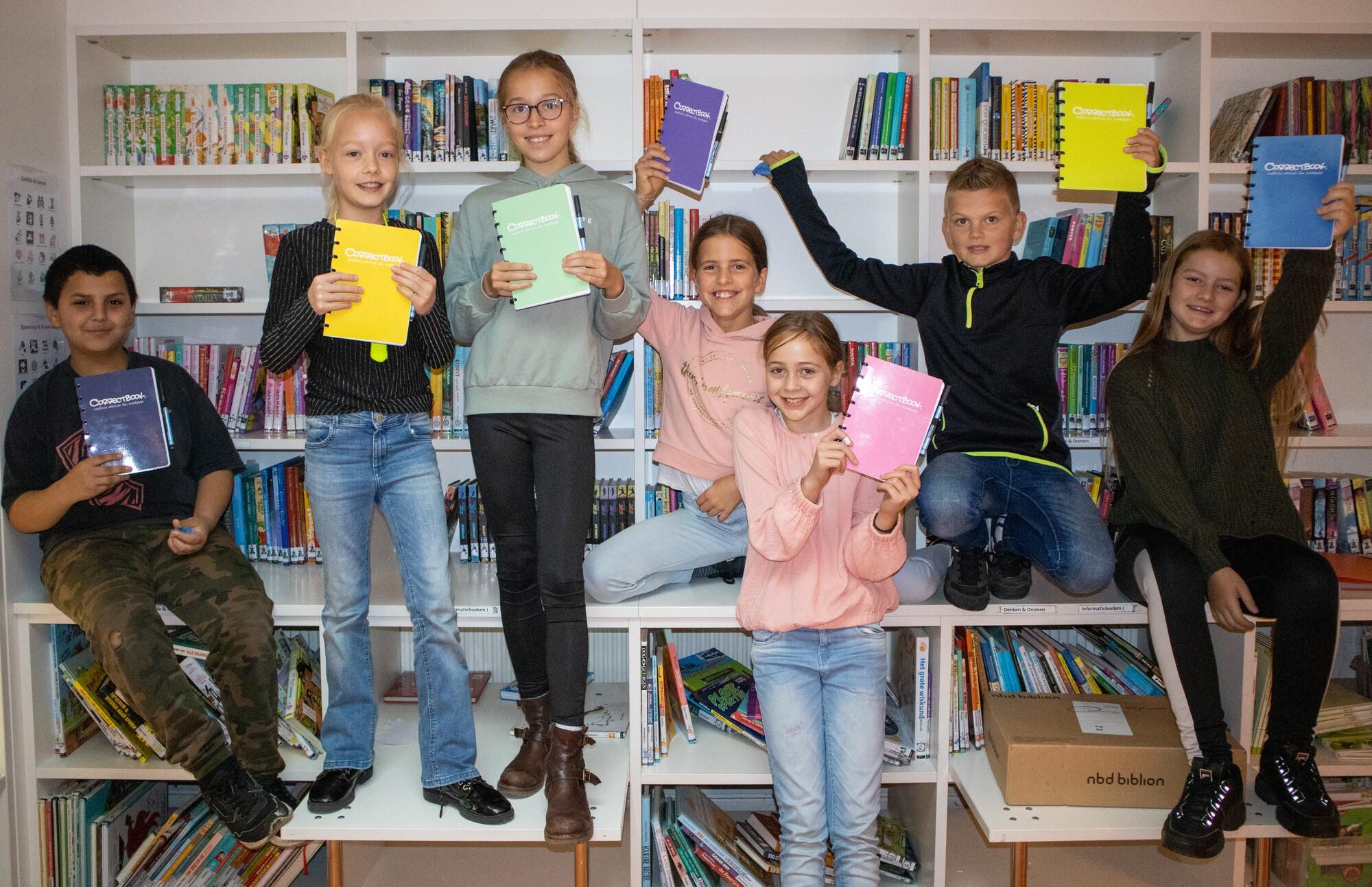 Correctbook bezoekt bassischool voor de Dag van de Duurzaamheid Onderwijs